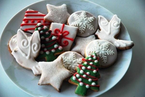 новогоднее печение для праздничного стола