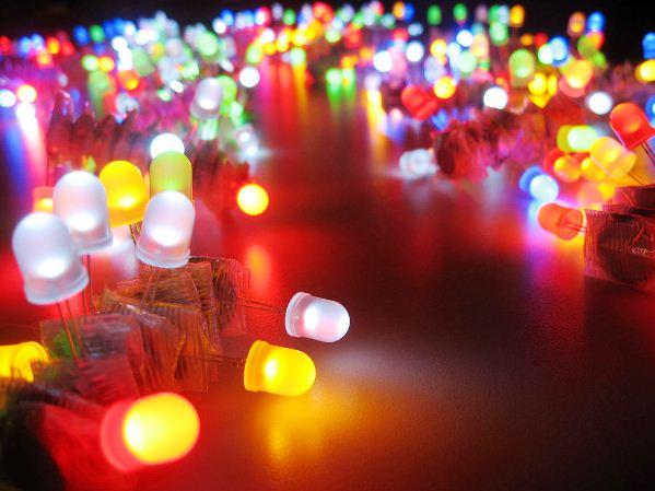 новогодние светодиодные гирлянды
