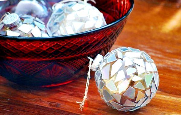как сделать новогодние украшения