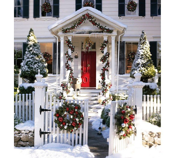 Как украсить дом на новый год своими
