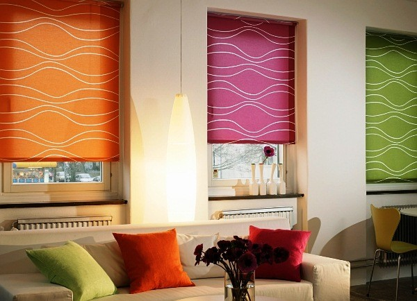 красивые шторы в гостиную фото 10