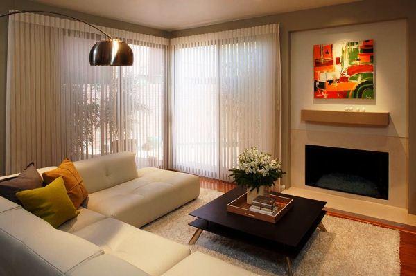 красивые шторы в гостиную фото 11