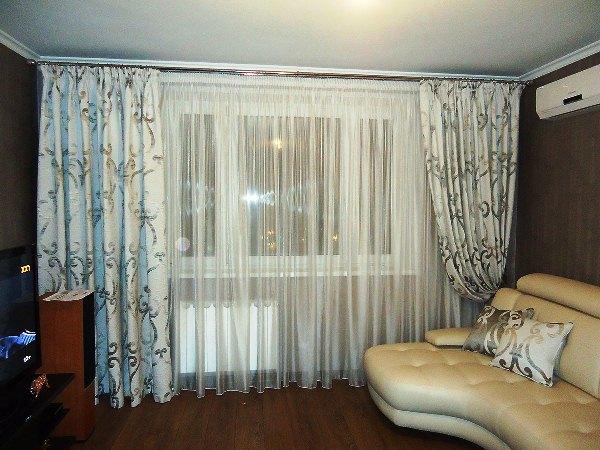 красивые шторы в гостиную фото 2