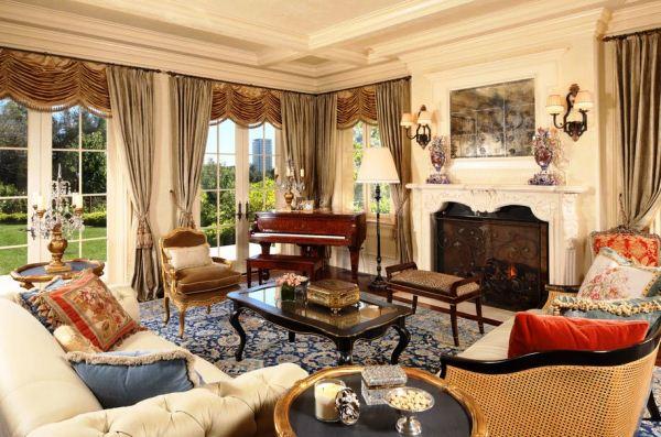 красивые шторы в гостиную фото 5