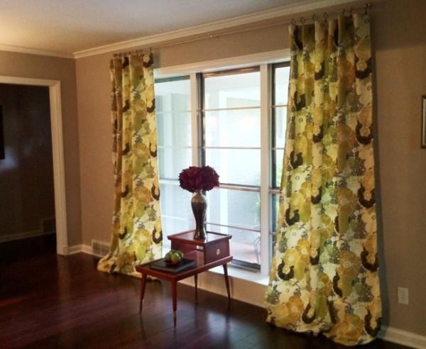 красивые шторы в гостиную фото 7