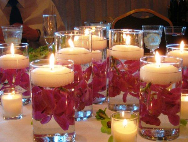 декорирование новогодних свечей