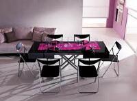 обеденные столы-трансформеры для гостиной