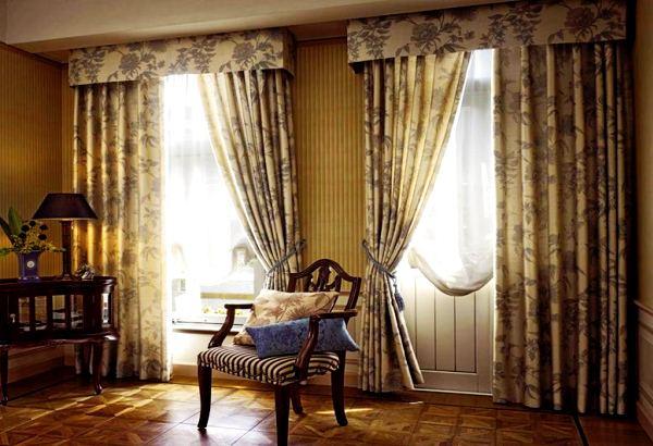 портьеры в гостиную фото 2