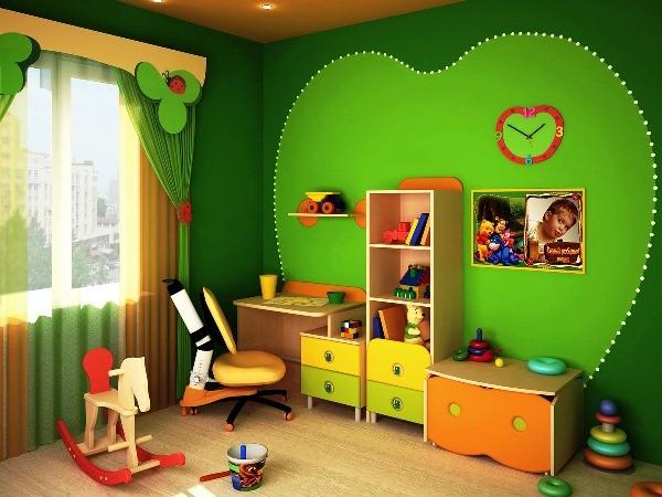 дизайн детской для двух девочек фото 2
