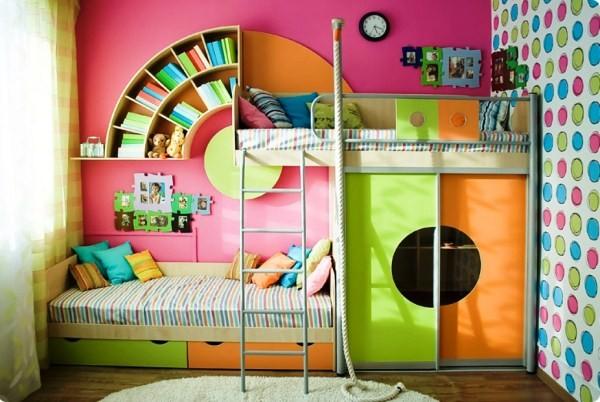 дизайн детской для двух девочек фото 9