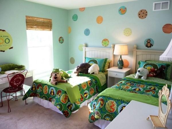 дизайн детской комнаты для двух девочек 16 кв. м