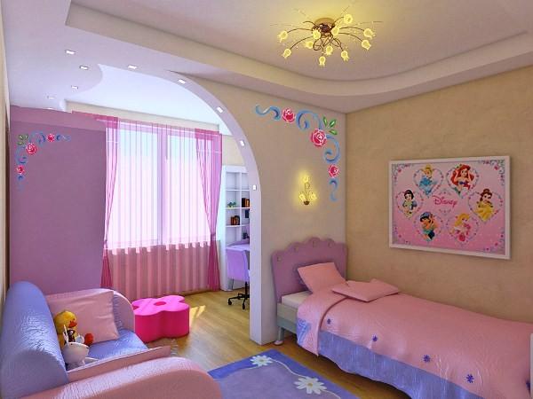 Дизайн детские для двоих детей