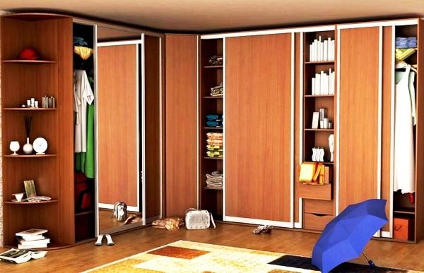 фасады дверей шкафа-купе фото