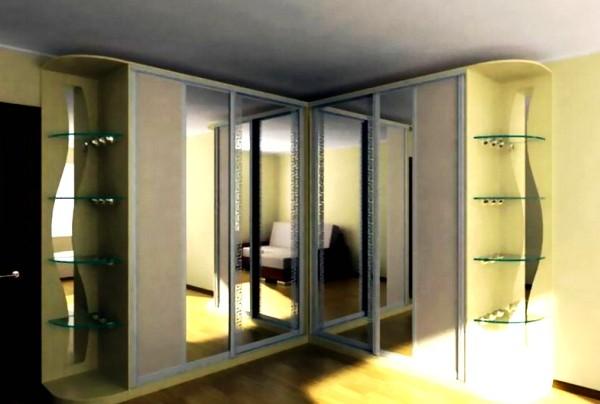 оформление фасадов шкафов-купе