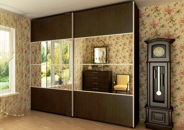 шкафы-купе комбинированные фасады фото