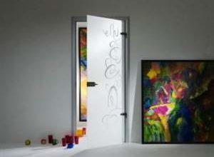 межкомнатные зеркальные двери