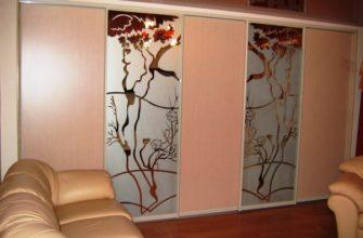 межкомнатные зеркальные двери фото 11