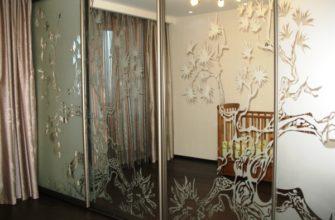 межкомнатные зеркальные двери фото 4