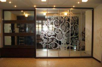 межкомнатные зеркальные двери фото 5