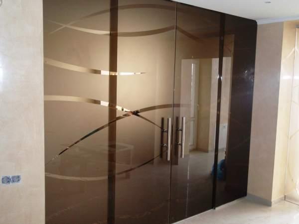 Межкомнатные зеркальные двери фото