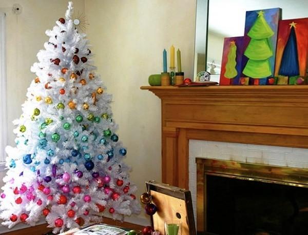 как украсить елку в 2018 году фото