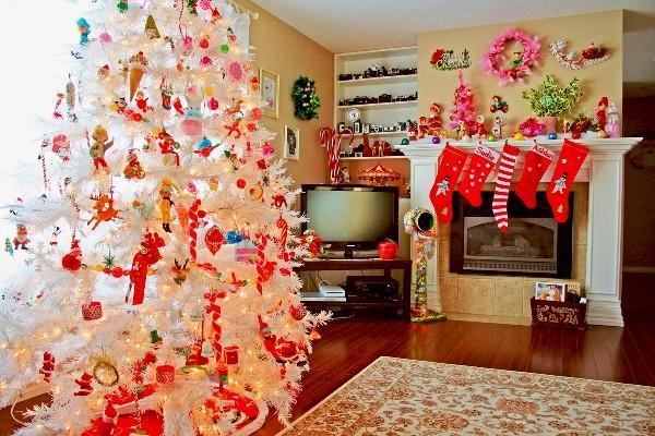 новогодний декор елки