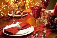 украшение новогоднего стола 2018