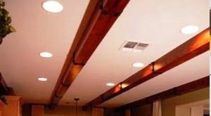 балки декоративные на потолок