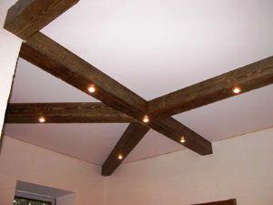 декоративные потолочные балки