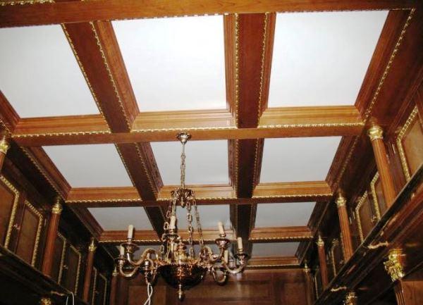 Образцы потолочных декоративных балок