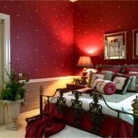 бордовый цвет в интерьере фото 21