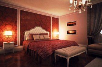 бордовый цвет в интерьере фото 24