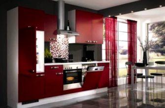 бордовый цвет в интерьере фото 36