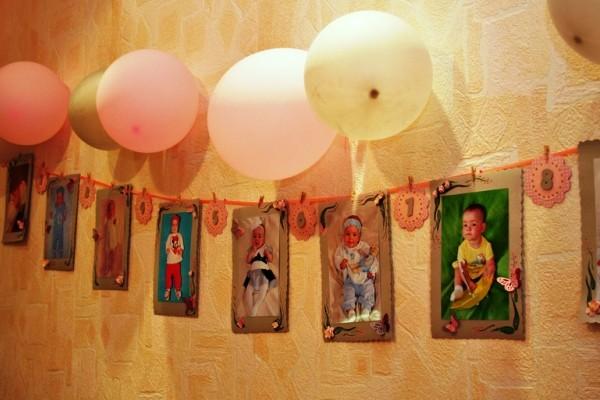 как украсить комнату на день рождения ребенка фото