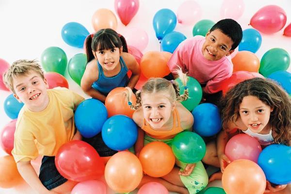 оформление детского дня рождения шарами фото