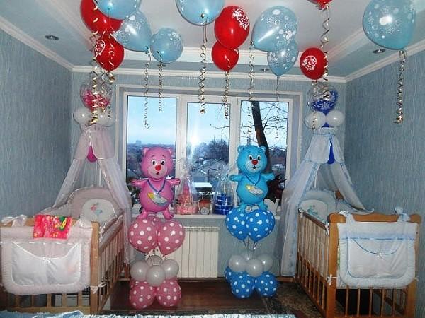 оформление дня рождения своими руками дома фото