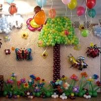 украшение детского праздника своими руками фото 25