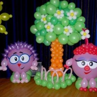 украшение детского праздника своими руками фото 39