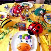 украшение детского праздника своими руками фото 45