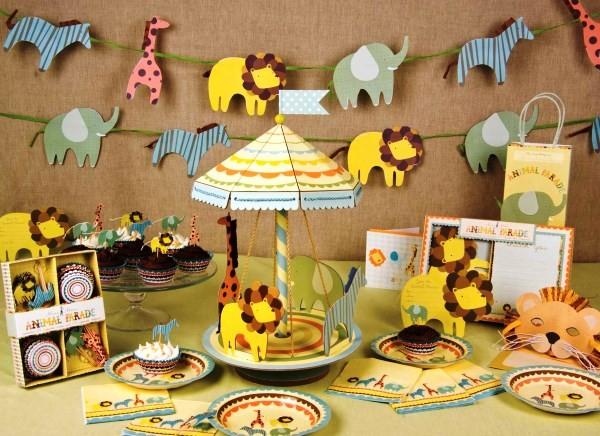 украшение стола своими руками на день рождения фото