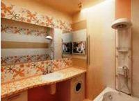 ванная комната дизайн фото модная плитка 2016 для маленькой ванны