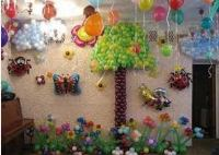 как украсить комнату на день рождения своими руками