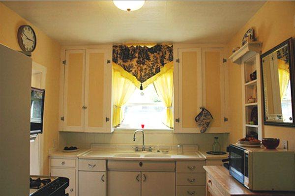 модные шторы для кухни 2019 фото 3