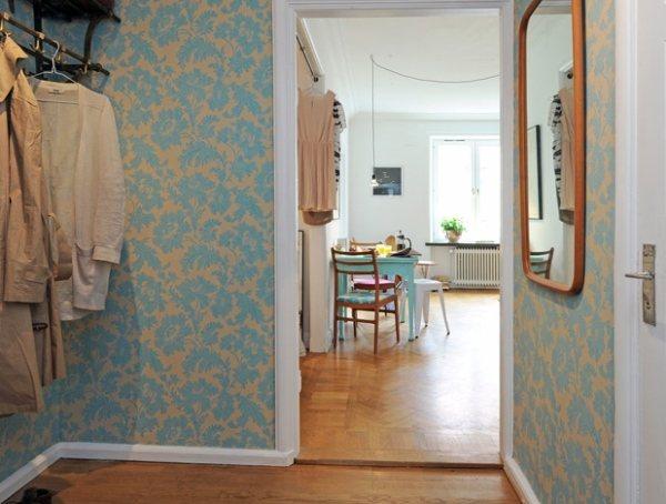 обои для прихожей и коридора фото идеи для дома