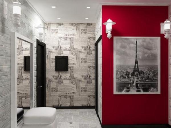 обои для прихожей и коридора идеи для квартиры фото 3