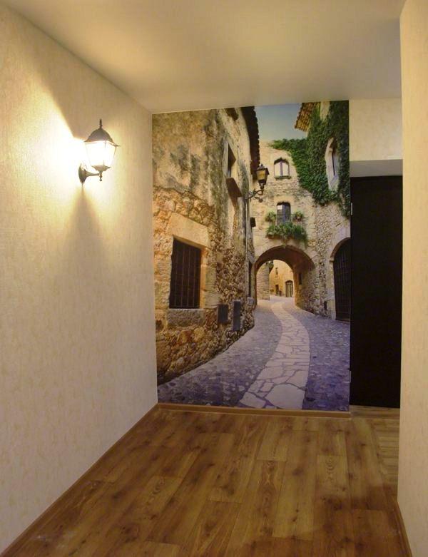 обои для прихожей и коридора идеи для квартиры фото 7