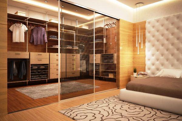 раздвижная перегородка в комнате фото 11