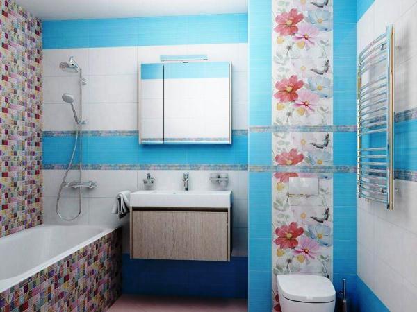 современная плитка для ванной комнаты фото 10