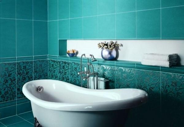 современная плитка для ванной комнаты фото 3