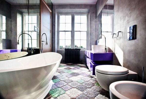 современная плитка для ванной комнаты фото 4